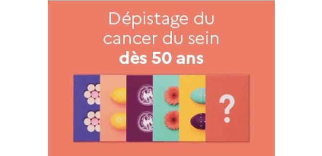 Prévention et dépistage des cancers du sein