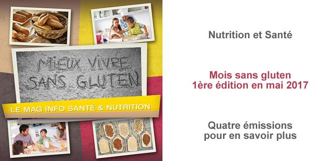 Mieux vivre sans gluten, le mag santé et nutrition